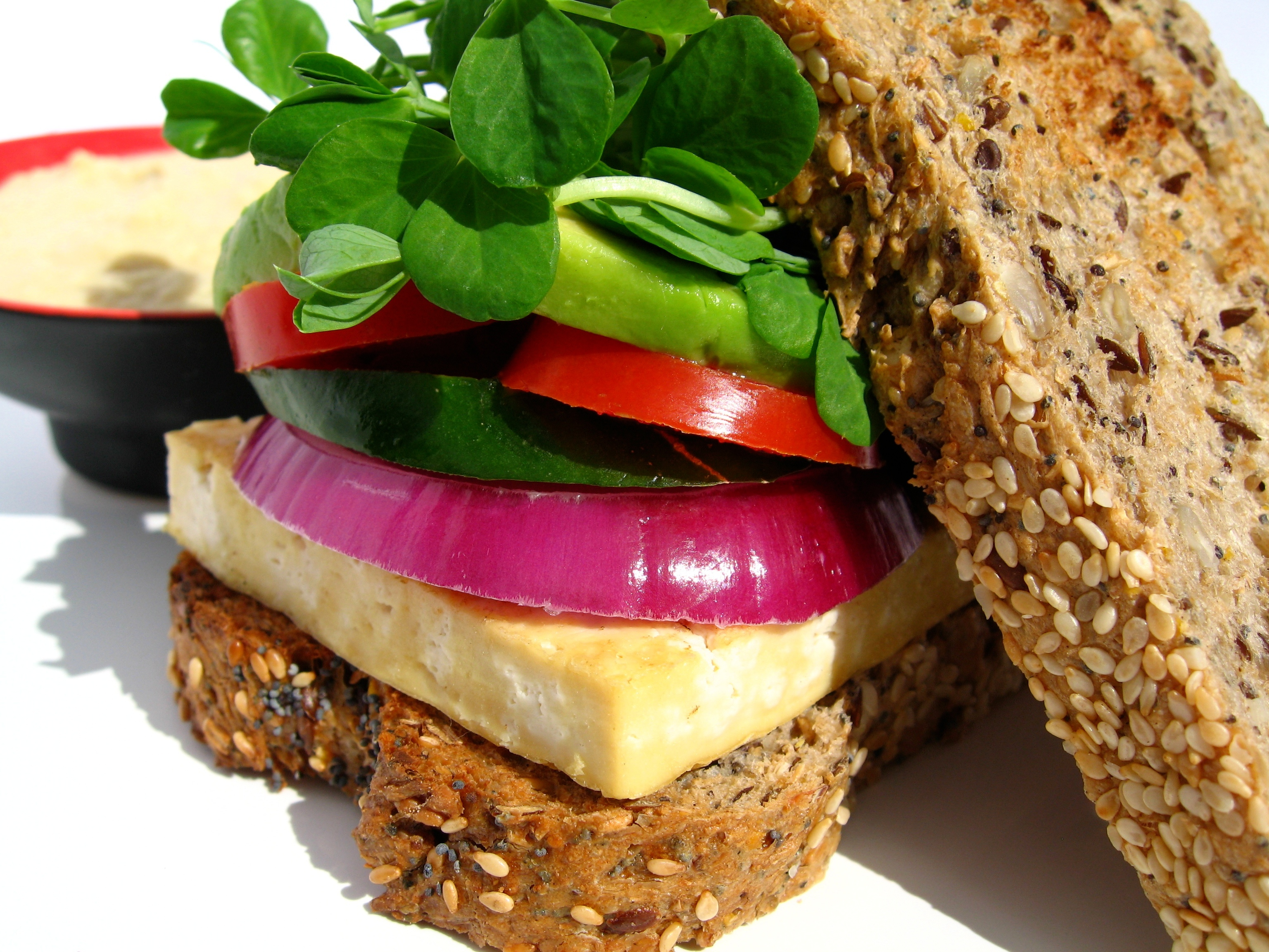 Gallery » Nine Grain Tofu Burger